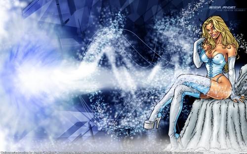 Emma Frost 壁纸