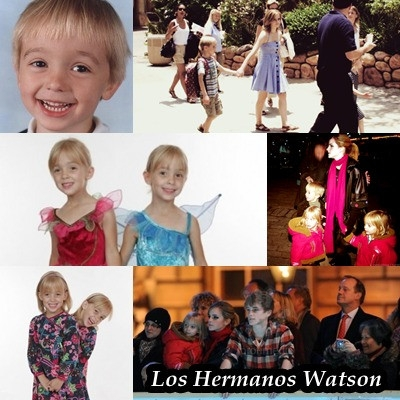 Emma Watson wallpaper possibly with a portrait entitled Emma's Siblings
