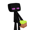 Enderman - minecraft fan art