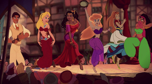 Esmeralda's Gysy Friends