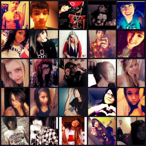 Everyone.(: iloveyuu lindzy Nd everyone thts on this pic c: