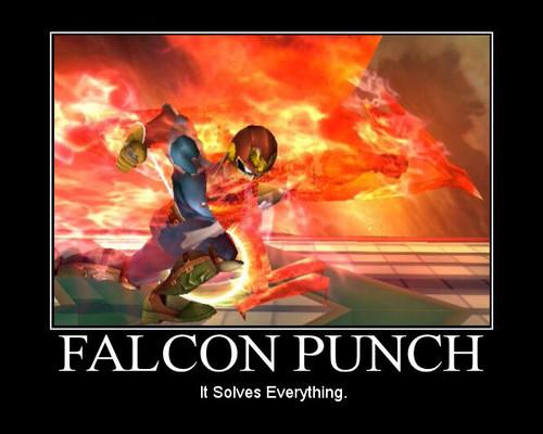 falcon, kozi ngumi, punch