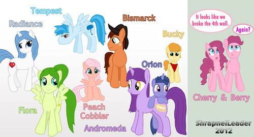 FANMADE Children of the Mane 6