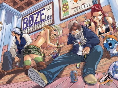 Fairy Tail achtergrond