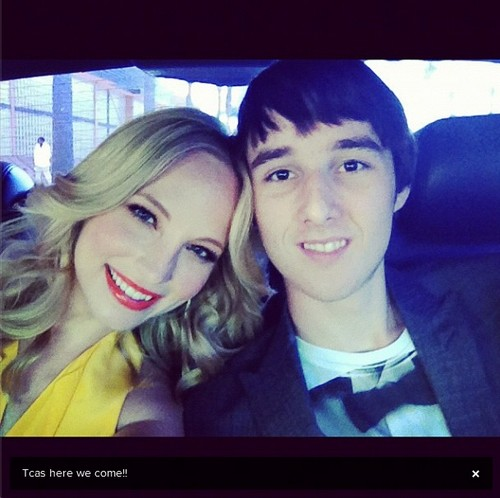 First look; Candice heading to the TCAs - new instagram pic.