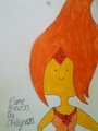 Flame Princess by Chillyneon