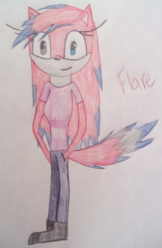 Flare the wolf
