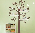 Flying Birds With Tree Wall Sticker