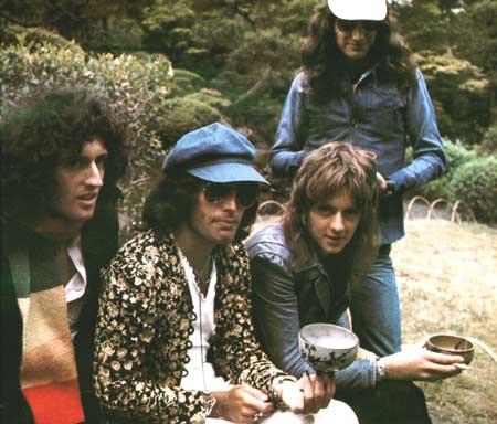 Freddie in 日本 1975