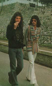 Freddie in 일본 1975