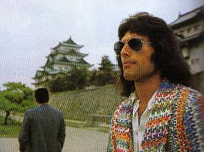 Freddie in Japon 1975