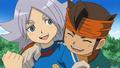 Fubuki And Endou! - inazuma-eleven wallpaper