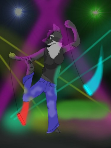 Furry Rave Night Song Pic