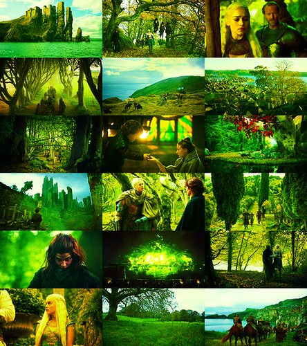 Games of Thrones Season 2 in green