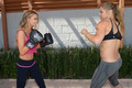Gets A Workout From Ronda Rousey In Los Angeles [24 July 2012] - carmen-electra photo