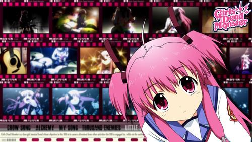 エンジェル Beats! Girls Dead Monster 壁紙 with アニメ entitled GirlDeMo
