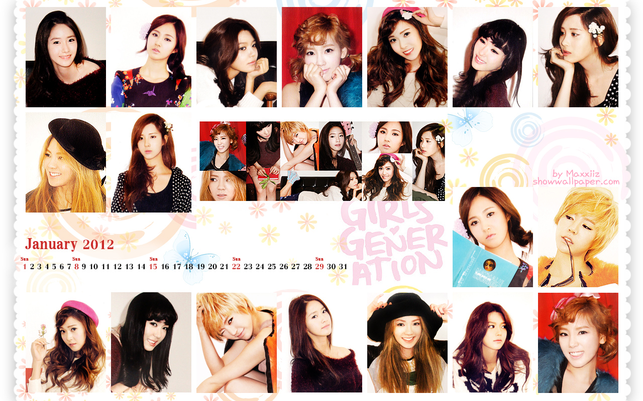 Girls Generation वॉलपेपर