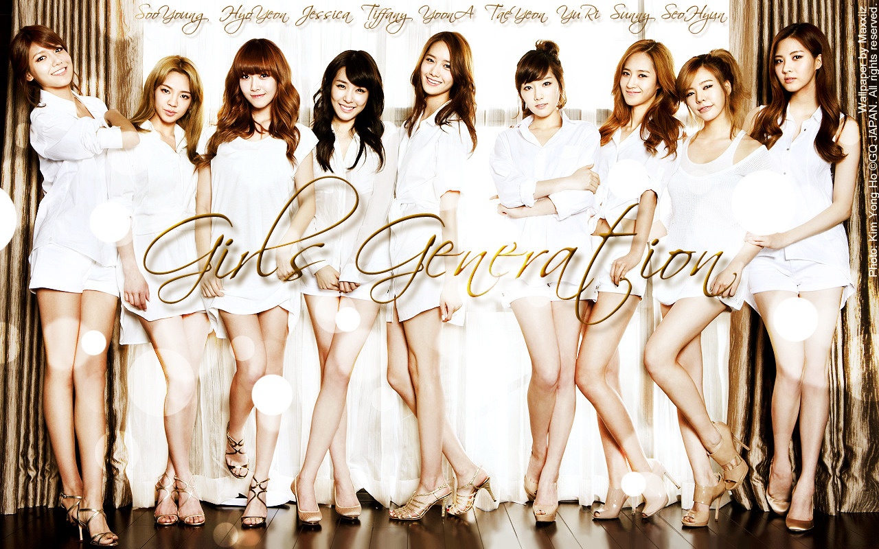 Neism girls generation wallpaper