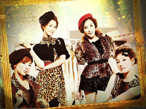 Girls Generation karatasi la kupamba ukuta