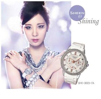 Girls' Generation for Casio Sheen - girls-generation-snsd Photo