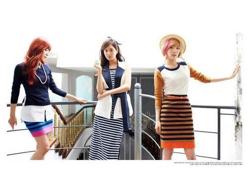 "Girls' Generation for ""High Cut"" लंडन Olympics themed issue"