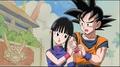 Goku e Chichi (orange hero)