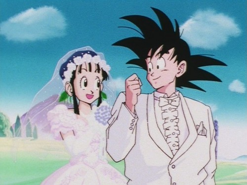 Goku x ChiChi - Wedding