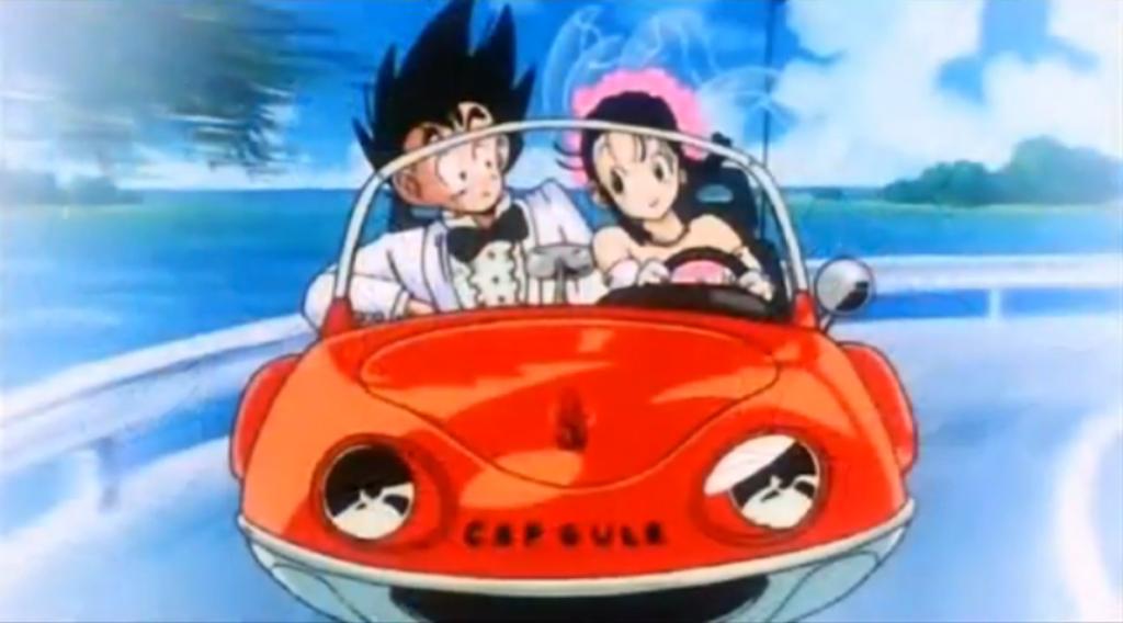 Goku x ChiChi - Wedding