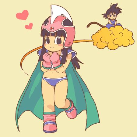 Goku x Chichi (Chibi)