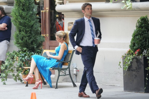 Gossip Girl - Behind the Scenes - July 12, 2012