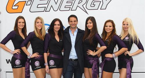 Gregoire Akcelrod with team RFR