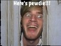 HERES PEWDIE - pewdiepie photo