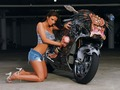 "HOT GIRL & SUZUKI HAYABUSA - ""The Predator Bike"" - motorcycles photo"