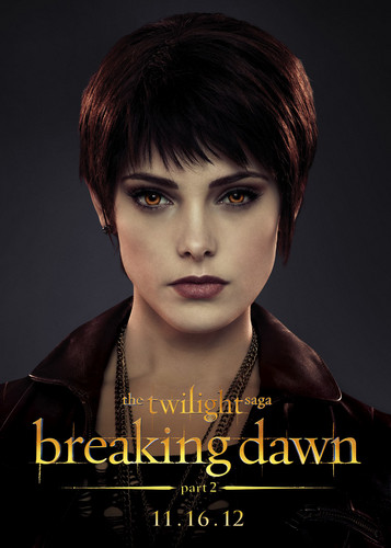 Breaking Dawn The Movie wallpaper probably containing a portrait entitled HQ Breaking Dawn Part 2 Characters Posters