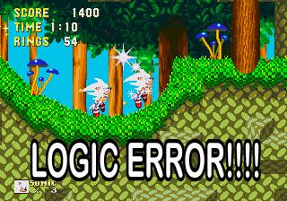 HYPER SONIC LOGIC ERROR