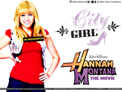 Hannah Montana the Movie Exclusive Promotional 壁紙 によって DaVe!!!