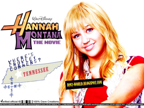 Hannah Montana the Movie Exclusive Promotional achtergronden door DaVe!!!