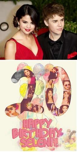 Happy 20th Birthday Selena!! - justin-bieber Photo