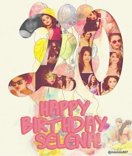 Happy 20th Birthday Selena!!