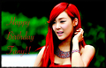 Happy Birthday Fany!!!!!