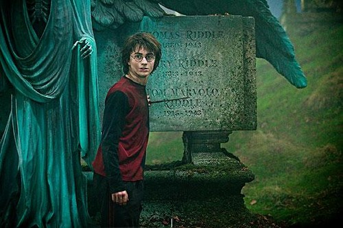 Harry Potter and the Goblet of 火災, 火 Graveyard Scene