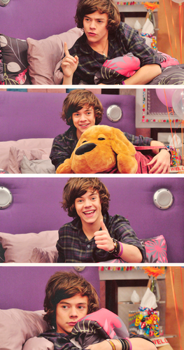 Harry Styles on iCarly