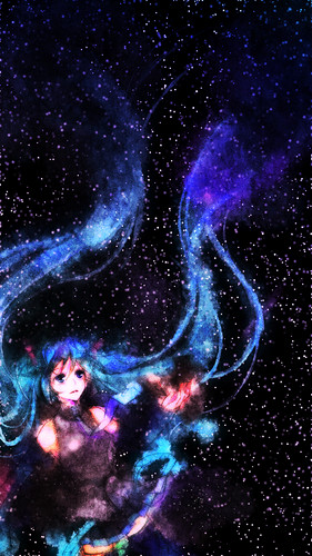 anime wallpaper entitled Hatsune Miku
