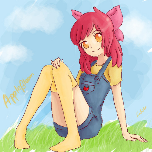 Humanized Applebloom
