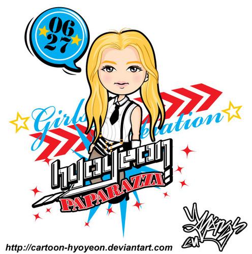 Hyoyeon Paparazzi chibi's