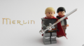I just love Merlin in Lego - merlin-on-bbc fan art