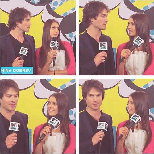 Ian/Nina MTV interview