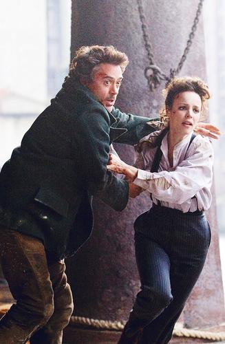 Irene & Sherlock