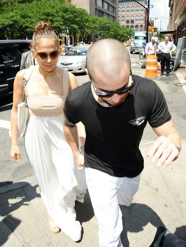 J.Lo Celebrates Her Birthday [July 24, 2012]