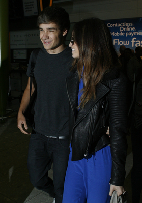Liam Payne wallpaper with a business suit and a well dressed person entitled JUL 16TH - LIAM AND DANIELLE AT HEATHROW AIRPORT♥